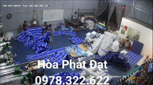 Báo giá cung cấp bạt che nắng may ép vải bạt mái che giá rẻ tại TP Vinh