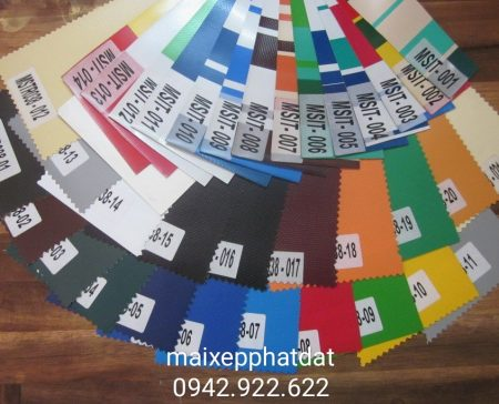 Báo giá cung cấp bạt che nắng may ép vải bạt mái che giá rẻ tại TP Thủ Dầu Một