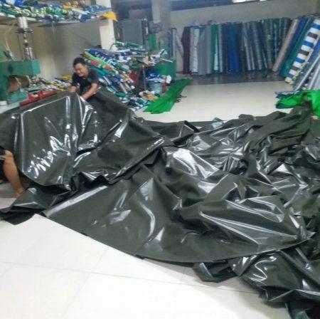 Báo giá cung cấp bạt che nắng may ép vải bạt mái che giá rẻ tại Quận Hoàn Kiếm