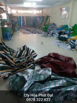 Báo giá cung cấp bạt che nắng may ép vải bạt mái che giá rẻ tại TP Điện Biên Phủ