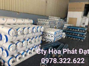 Báo giá cung cấp bạt che nắng may ép vải bạt mái che giá rẻ tại Bình Thuận