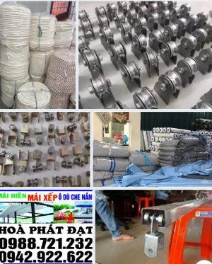 Báo giá cung cấp bạt che nắng may ép vải bạt mái che giá rẻ tại Điện Biên