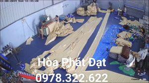 Báo giá cung cấp bạt che nắng may ép vải bạt mái che giá rẻ tại TP Quy Nhơn