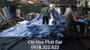 Báo giá cung cấp bạt che nắng may ép vải bạt mái che giá rẻ tại Bình Phước