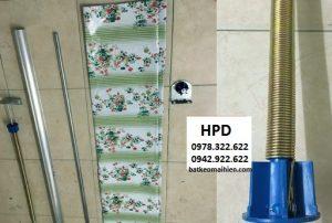 Báo giá cung cấp bạt che nắng may ép vải bạt mái che giá rẻ tại Thái Nguyên